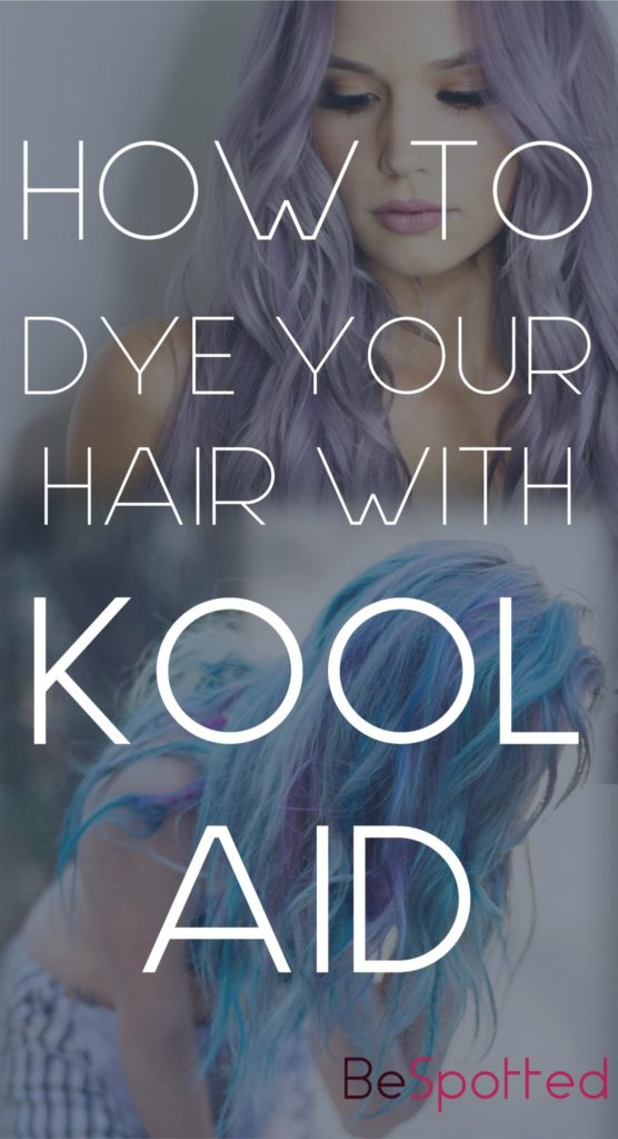 Two girls who dyed their hairs with Kool Aid hair dye