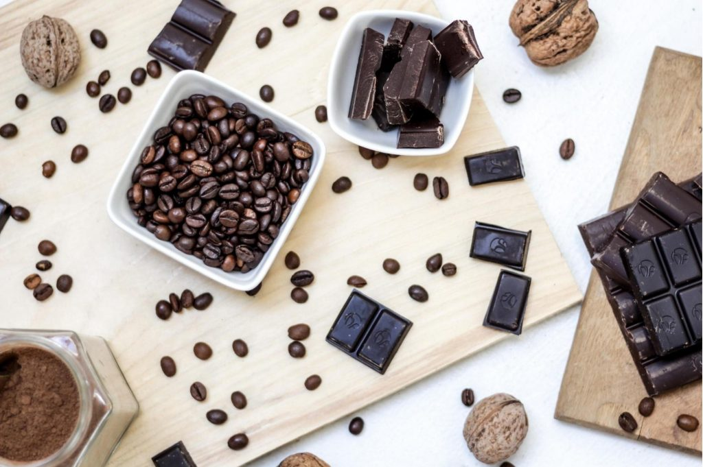 Ingredients for DIY Beauty Products with Chocolate