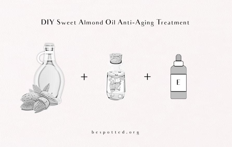 DIY Sweet Almond Oil Anti-Aging Treatment Recipe