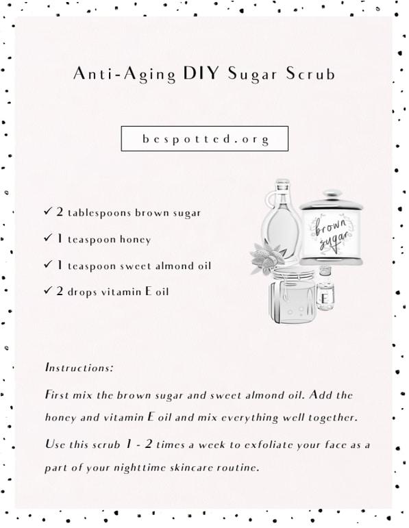 How to make Anti-Aging DIY Sugar Scrub