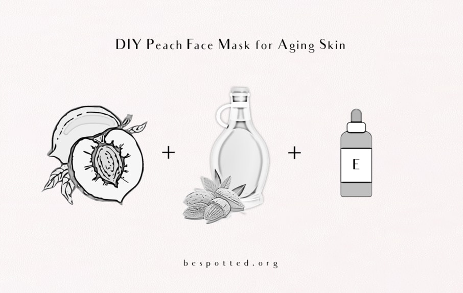 How to make Diy Peach Face Mask for Aging Skin