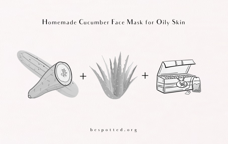 How to make Cucumber Face Mask for Oily Skin