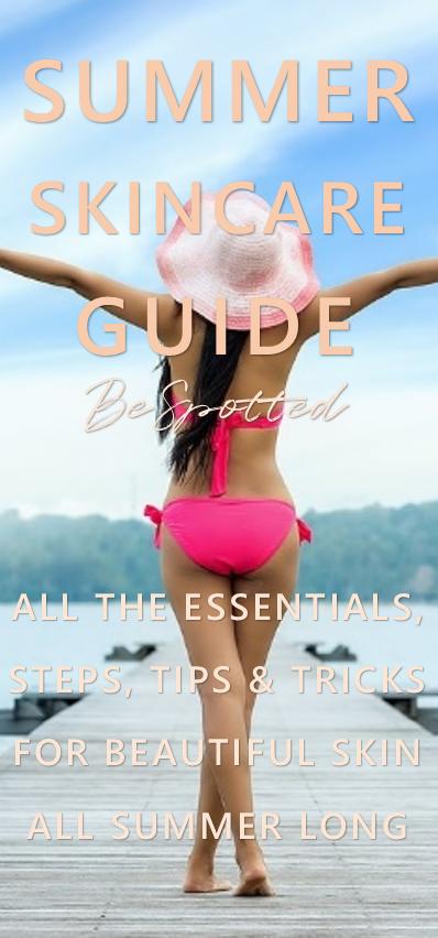 Summer Skincare Tips - Pinterest friendly image