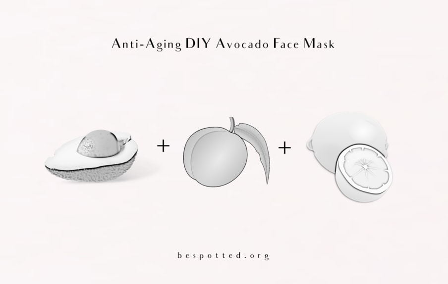A recipe for Anti-Aging Avocado Face Mask