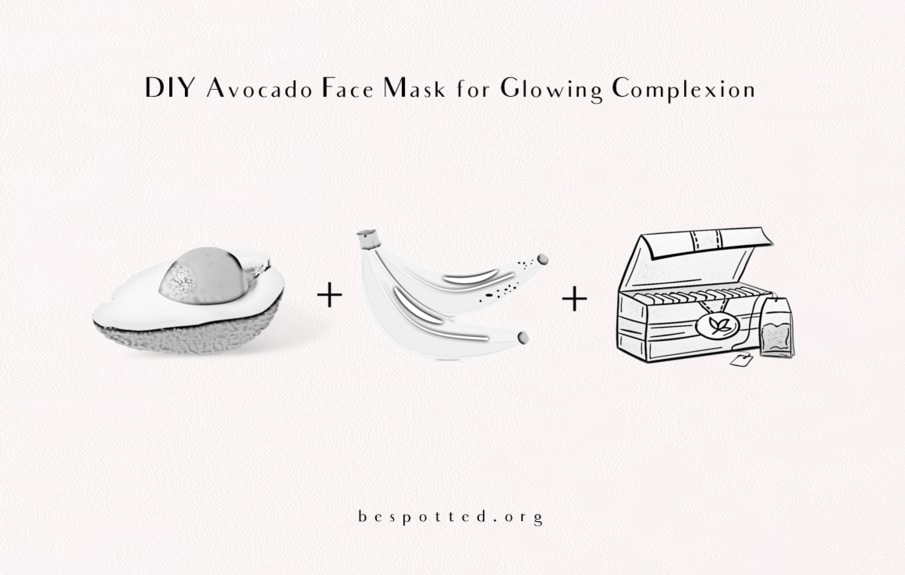 How to make DIY Avocado Face Mask for Glowing Complexion