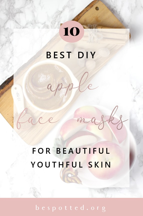 A Pinterest Friendly Image for Benefits of Apple for Skin