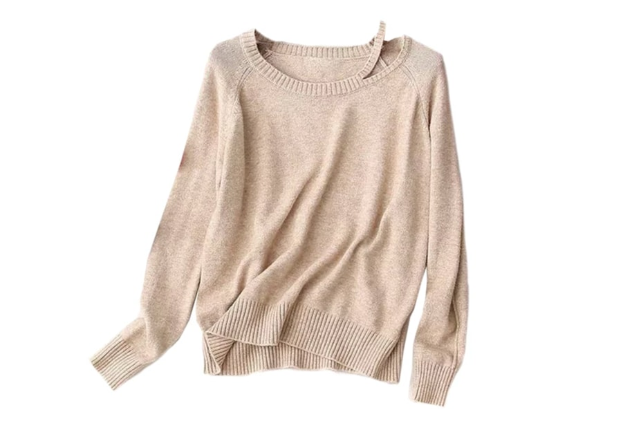 A lightweight sweater for chilly spring days