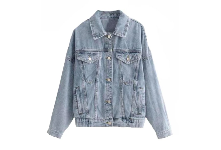 A must have in anyone's closet - a denim jacket