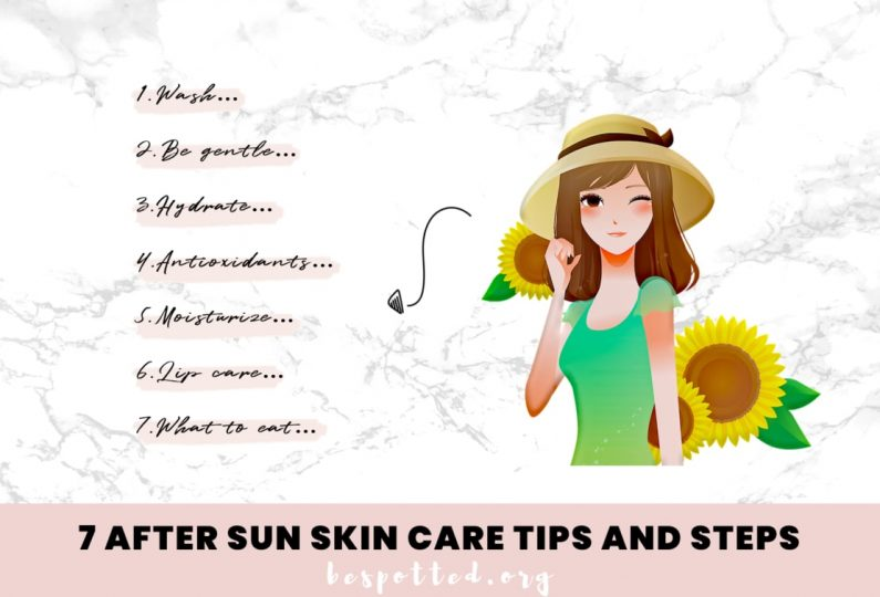 7 Most Important After Sun Skin Care Steps