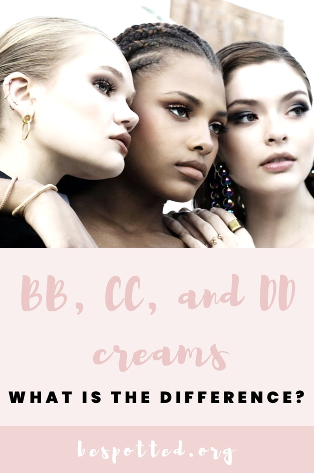 The Difference Between BB, CC, & DD Creams - A Pinterest Friendly Image