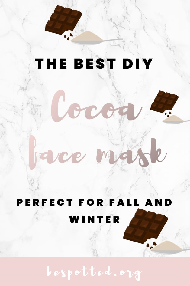Benefits of Cocoa Powder for Skin & The Best DIY Cocoa Face Mask - A Pinterest-Friendly Image