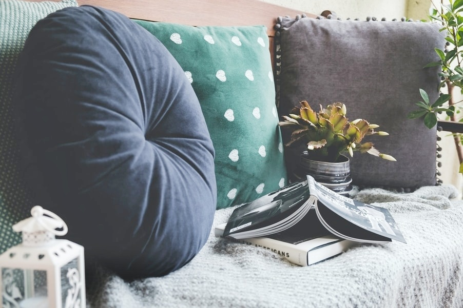 Comfy and cool gifts for minimalists - Cushions for a Comfortable Netflix Session