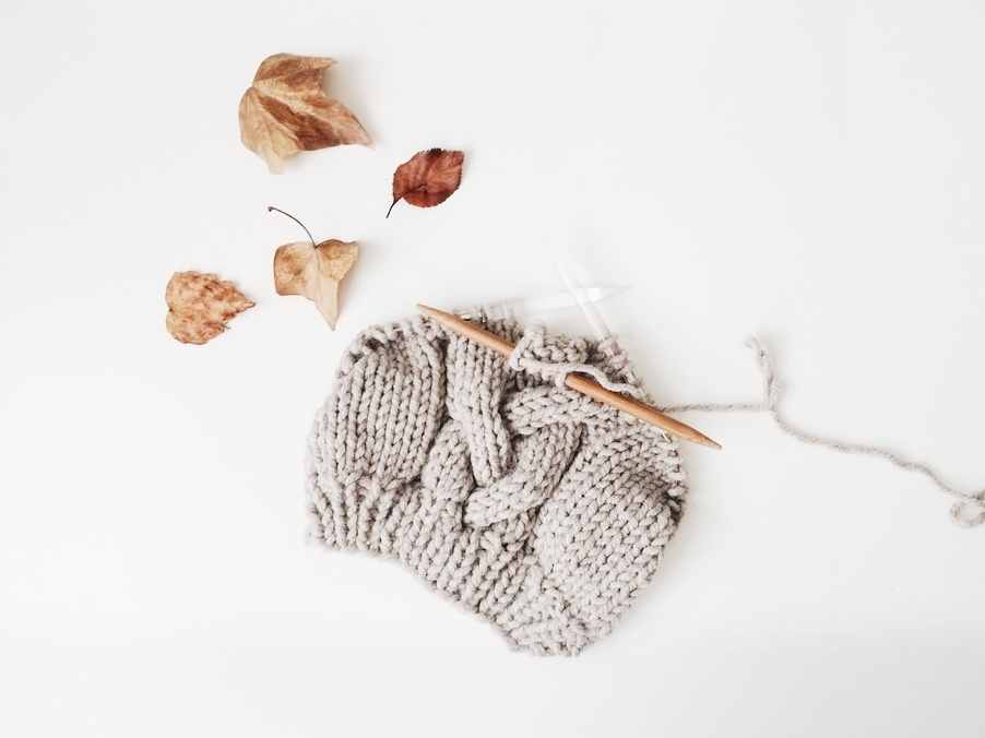 Gifts for minimalists idea - Knitting Kit for the Creative Soul