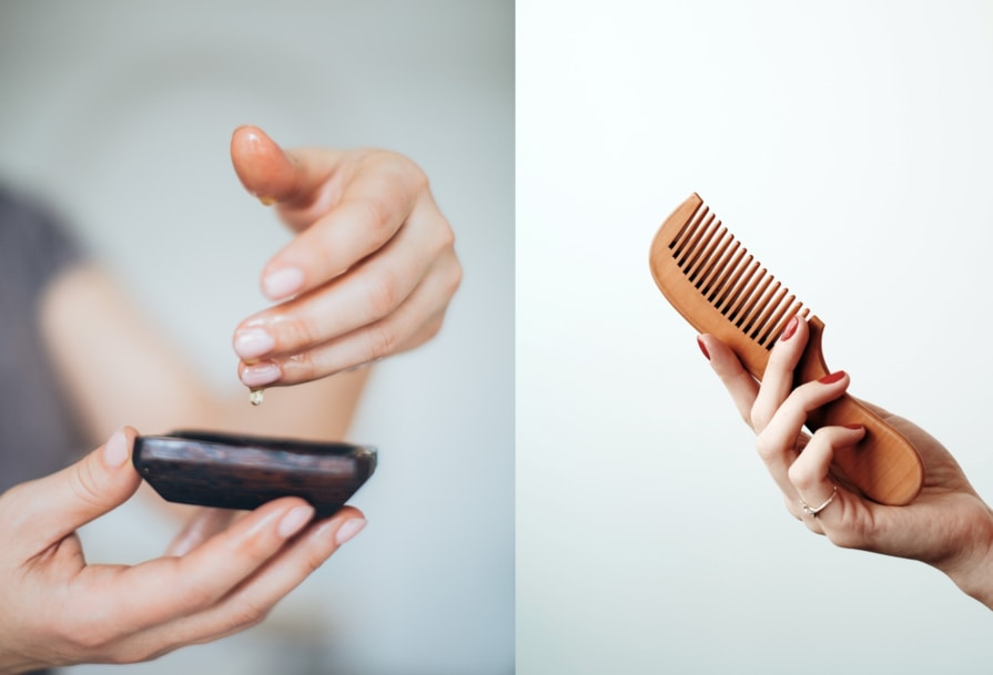 How to use the best natural oils for hair care and treatments