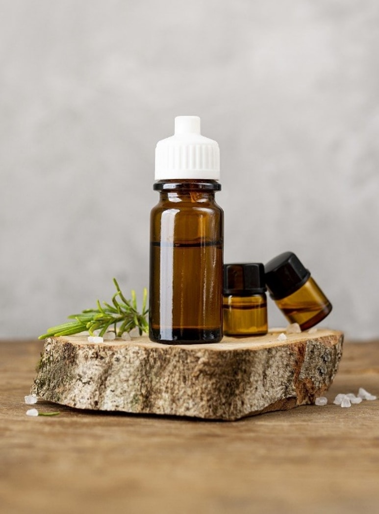 Rosemary essential oil - allegedly on of the best oils for hair growth