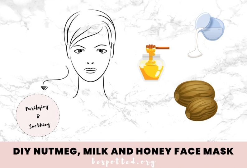 How to make a nutmeg face mask for acne, acne scars and dull skin