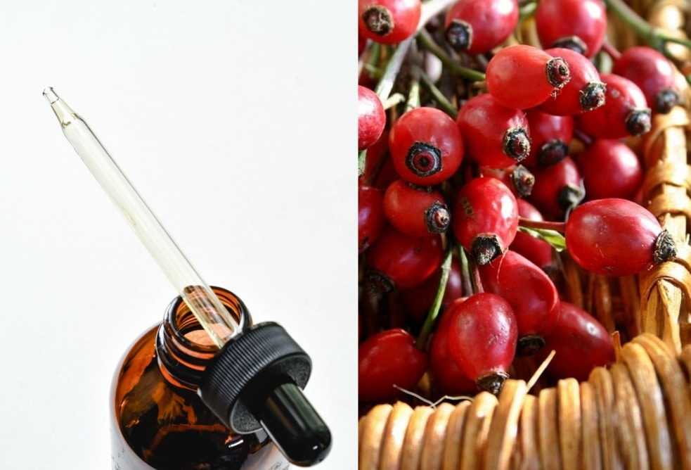 The first on the list of the best non comedogenic oils for face - rosehip oil